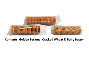 Cracker Trio Assorted Catering Crackers Bulk Crackers