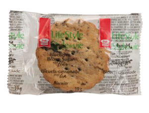 PEEK FREANS LIFESTYLE SELECTIONS Blueberry Brown Sugar Single Serve Cookies