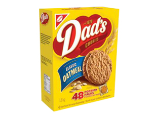 DAD'S Original Oatmeal Single Serve Cookies