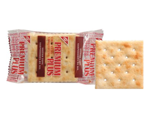 PREMIUM PLUS Salted Tops Single Serve Crackers