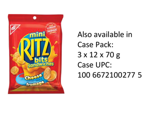 RITZ BITS SANDWICHES Cheese Single Serve