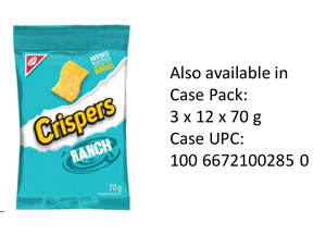 CRISPERS Ranch Single Serve