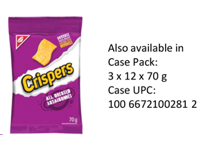 CRISPERS All Dressed Single Serve