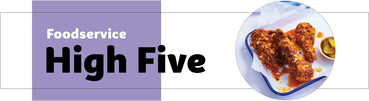 Foodservice High Five header